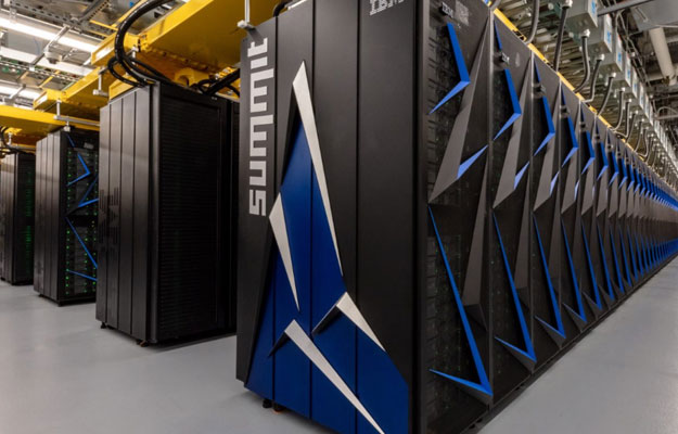The US again has the world's most powerful supercomputer