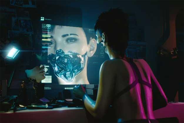cyberpunk 2077 mouth