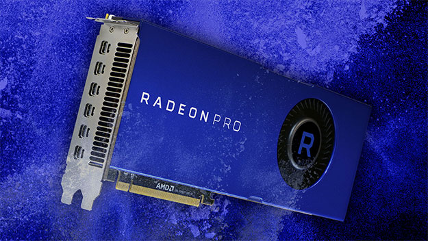 AMD 7nm Radeon Pro Vega 20 Workstation Graphics Card