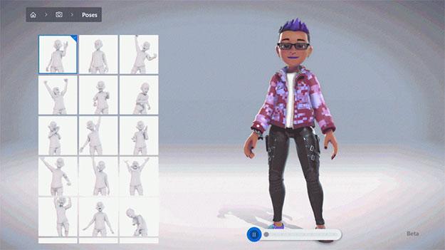 Xbox Avatar Editor
