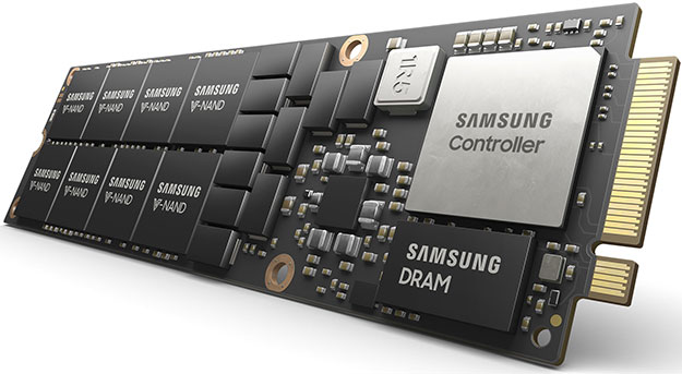 Samsung 8 Terabyte NF1 Gumstick NVMe SSD Smashes Storage Barriers In