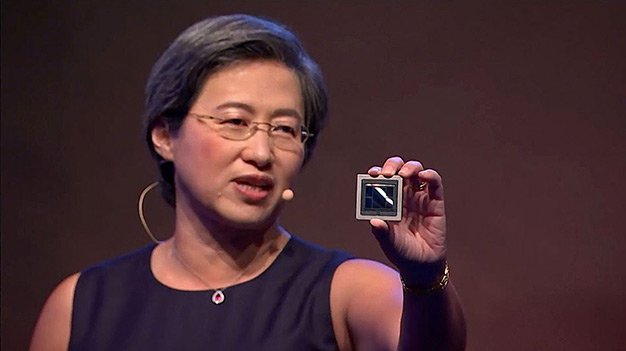 amd 7nm vega gpu lisa su