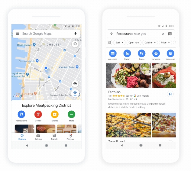 Google Maps Major Design Overhaul With Personalized ... on google maps android, iphone 5 mobile phone, google maps for car, nexus 7 mobile phone, google nexus mobile phone, google boost mobile phone, galaxy s4 mobile phone, google maps iphone,