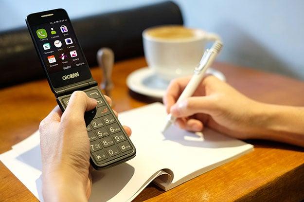 KaiOS Flip Phone