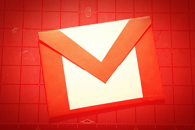 Gmail Red Background