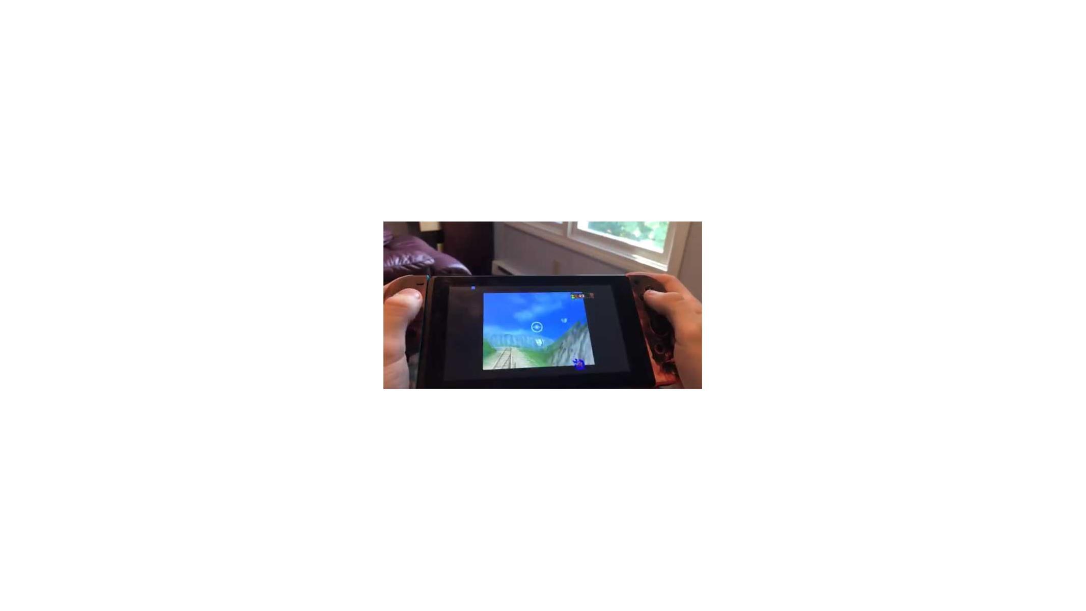Game Modder Mizumi Hacks Nintendo Switch To Run Gloriously