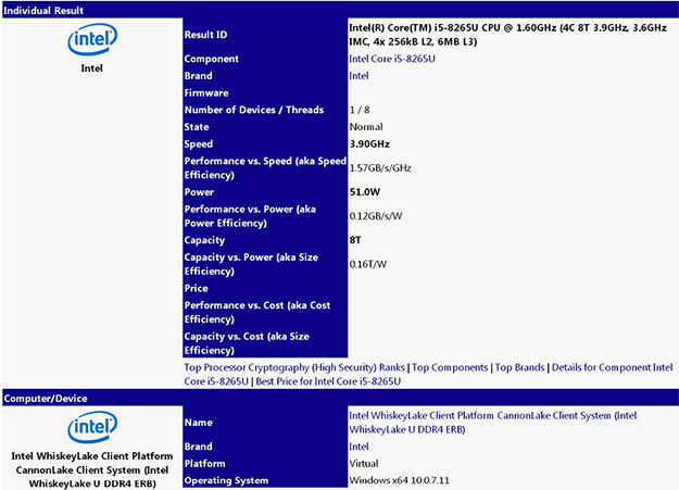 Core i5-8265U