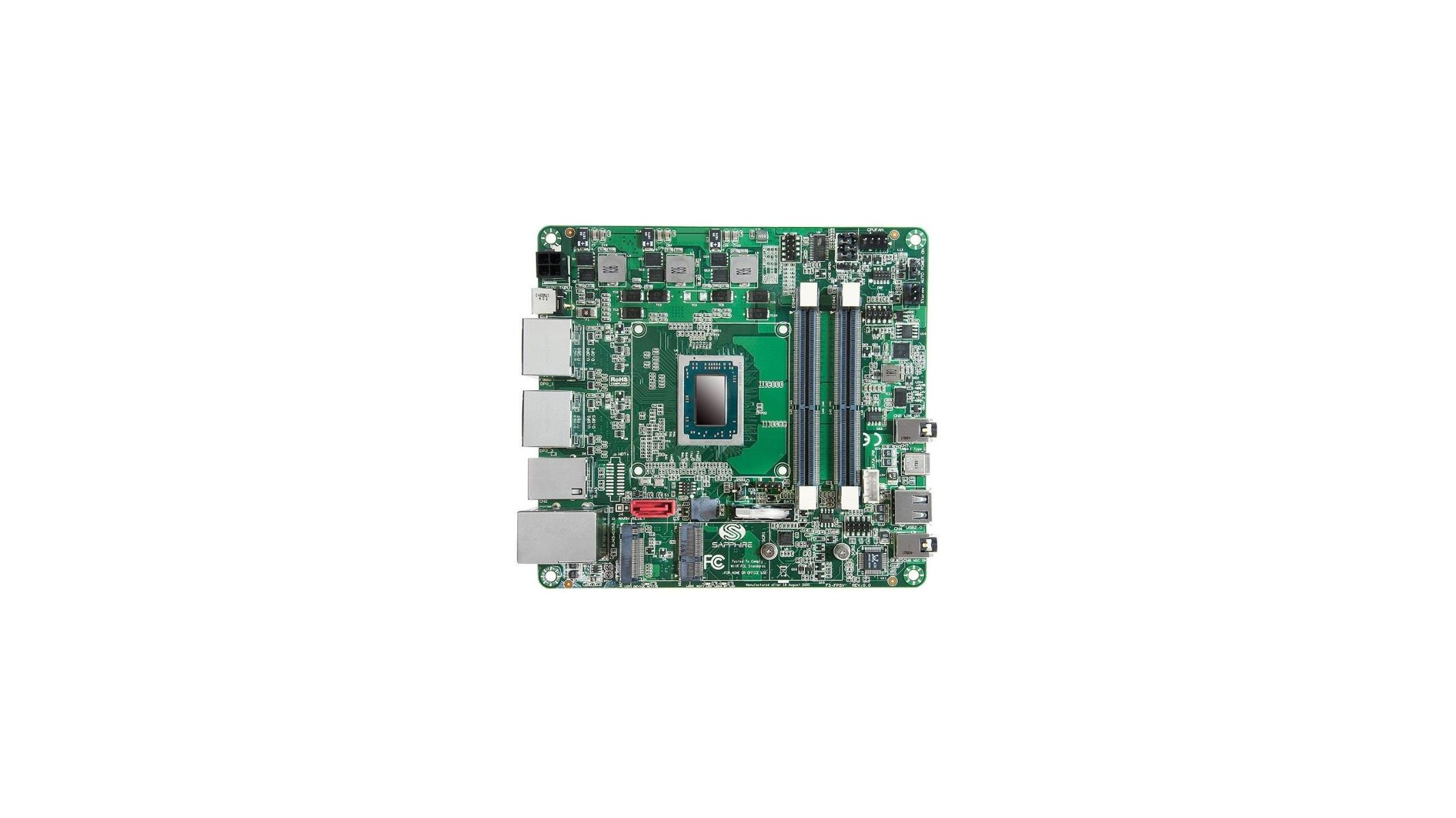 Sapphire Launches FS-FP5V Mini STX Motherboard With Embedded