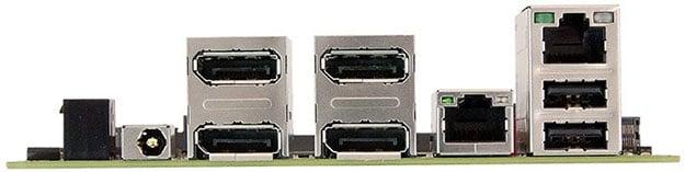Sapphire FP-FP5V Ports