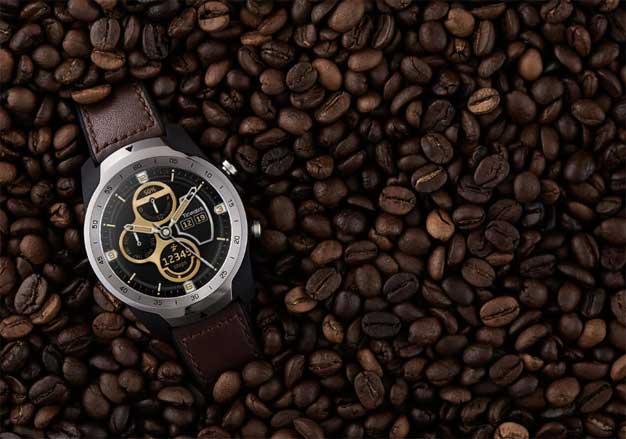 ticwatch pro coffee