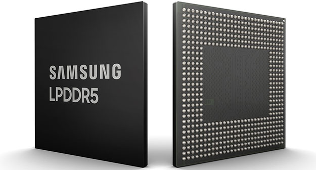 Samsung LPDDR5 DRAM
