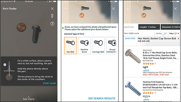 Amazon Part Finder Will Use AI And Machine Vision To Identify Items