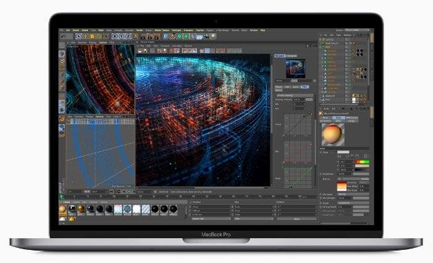 Apple MacBook Pro Update data manipulation simulations
