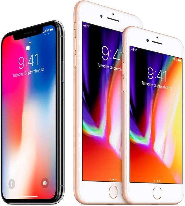 iphone x 8 family