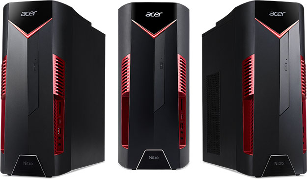 Acer Nitro N50-100 Gaming Desktop Leaks With Quad-Core AMD