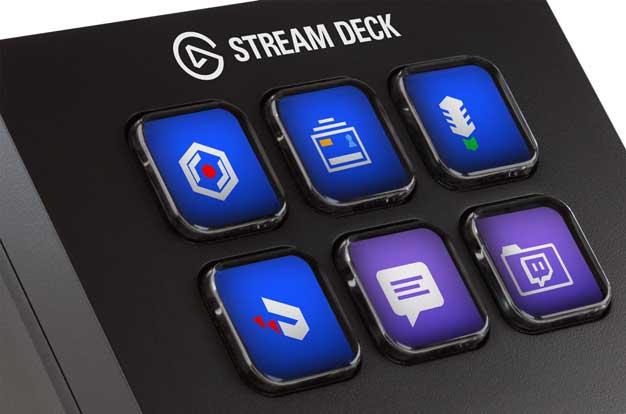 stream deck mini buttons