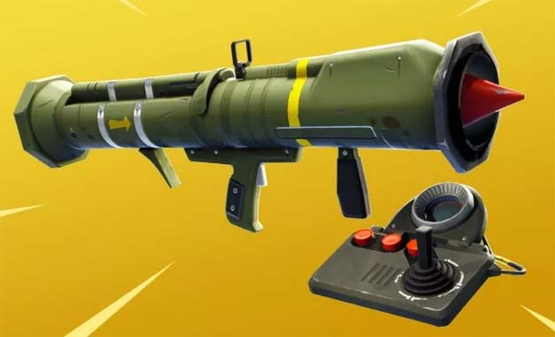 guided missile fortnite