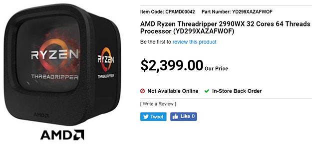 AMD Threadripper 2990X