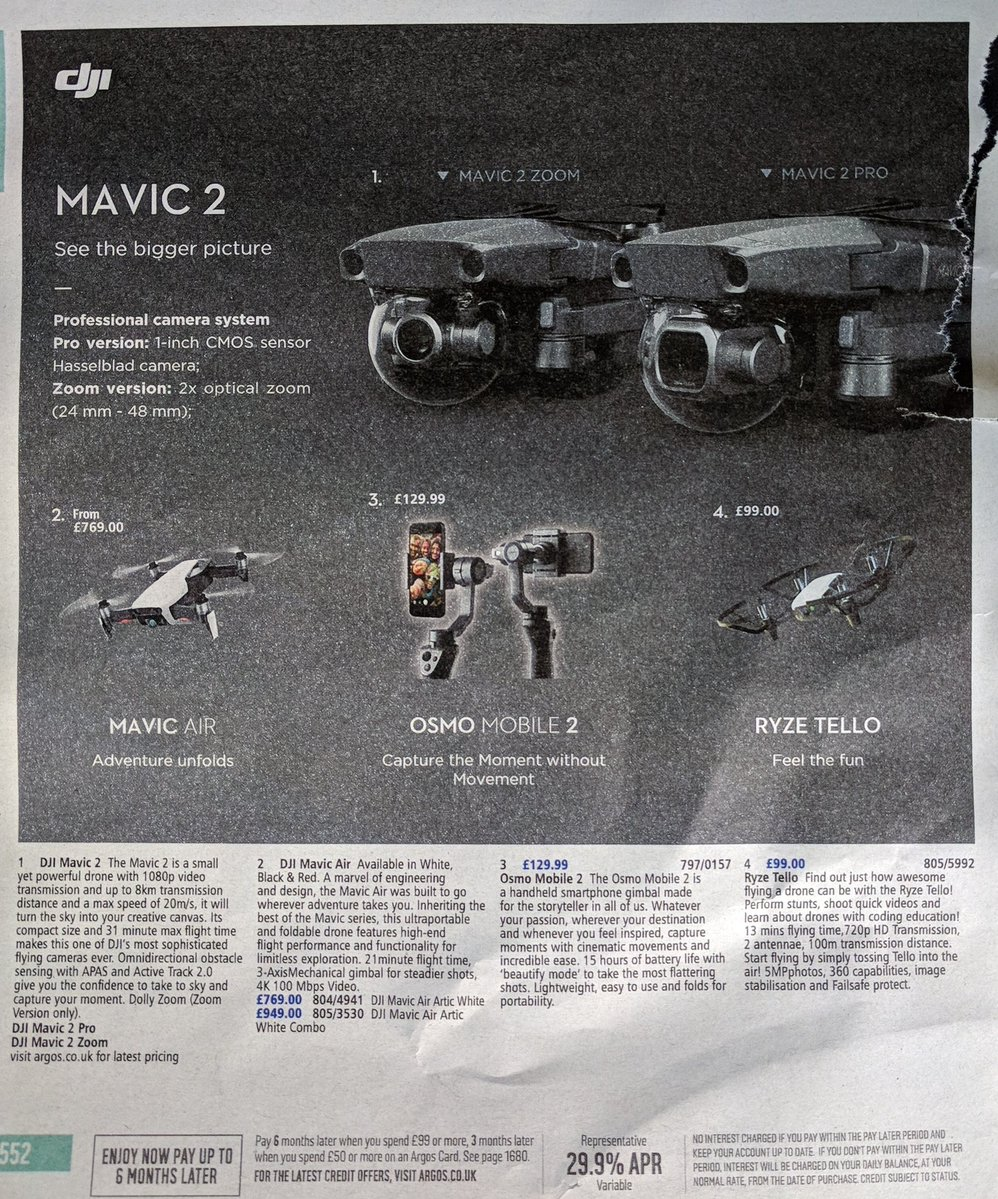 DJI Mavic 2 Pro Drone Leaks With Hasselblad Camera, 31-Minute Flight Time