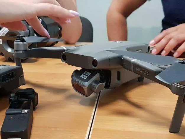 dji drone leak