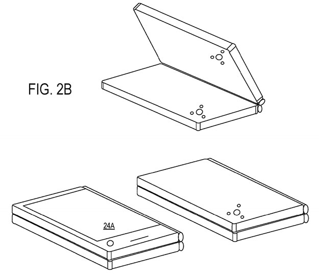 Dual Screen Surface Patent