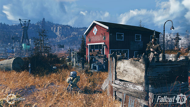 Fallout 76 To Bypass Valve's Steam Like A High Rad Area For