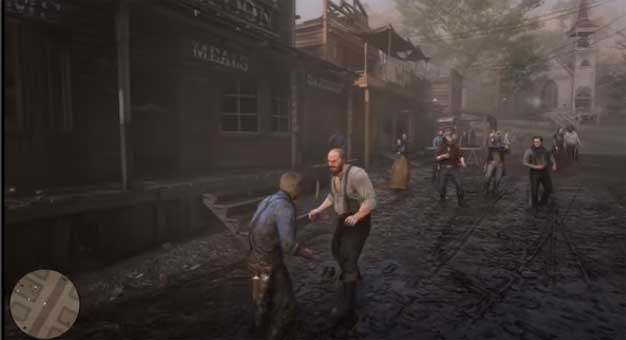 red dead redemption cutscenes