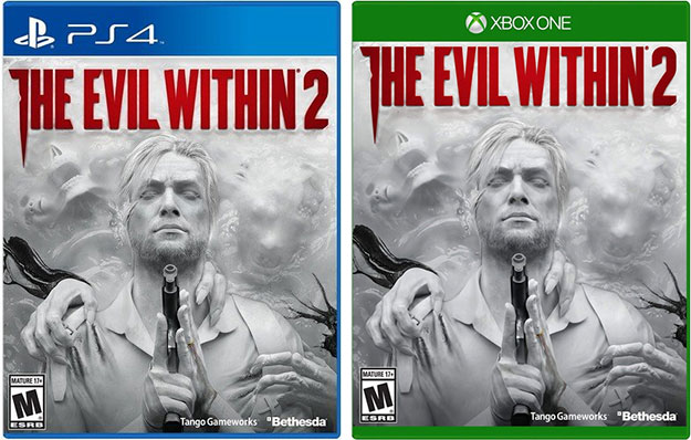 The Evil Within 2 Game Boxes