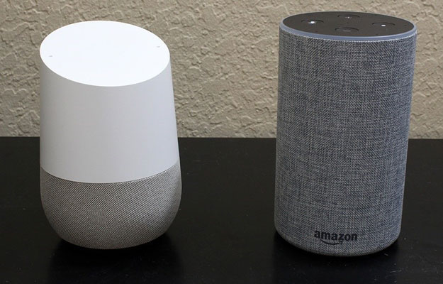 Amazon Echo and Google Home