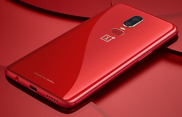OnePlus 6 Red 2