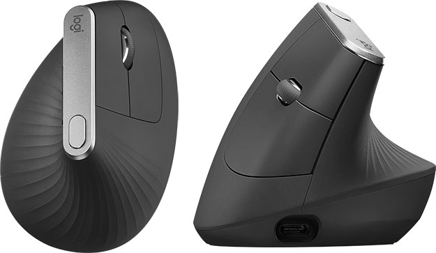 Logitech's MX Vertical is a freaky-looking first for the company
