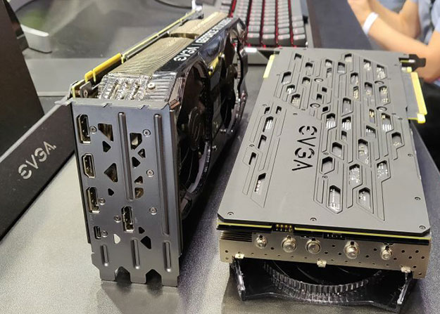 EVGA GeForce RTX Cards Expansion Ports