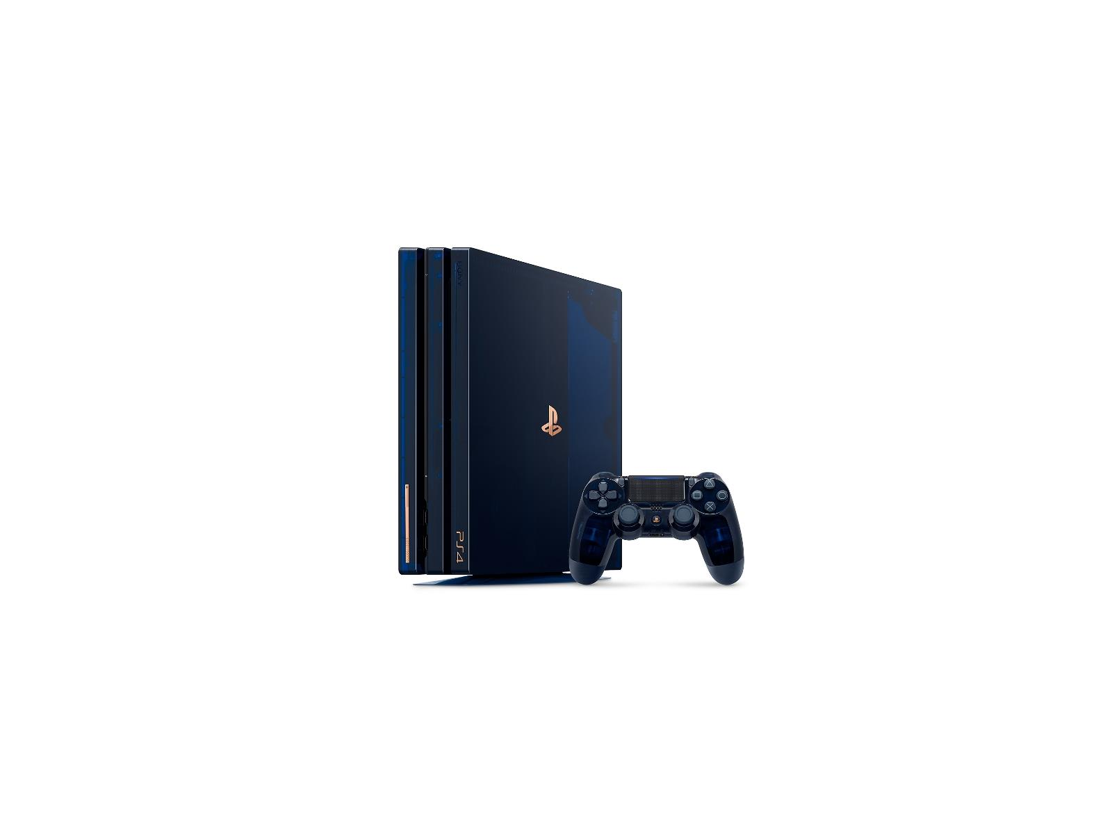 Sony's Sweet Translucent Blue Limited Edition PS4 Pro Now On Sale