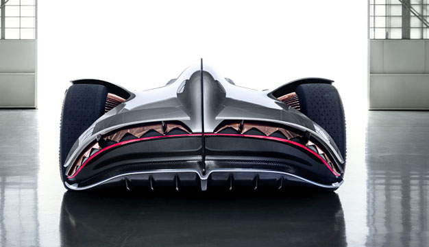 Mercedes EQ Silver Arrow rear