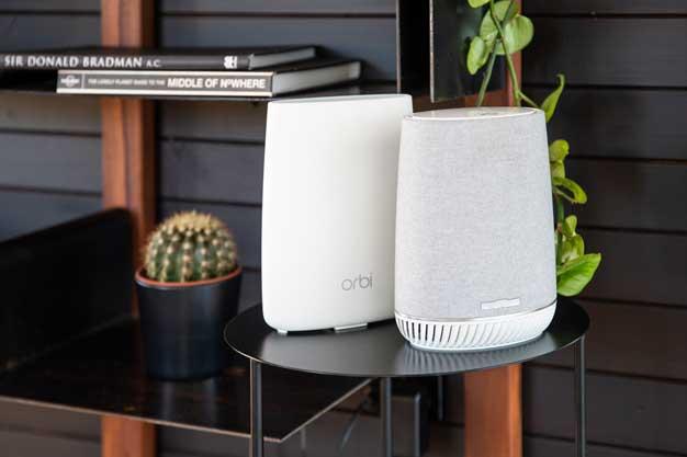 Netgear Unleashes Orbi Voice WiFi Mesh Satellite Doubling As