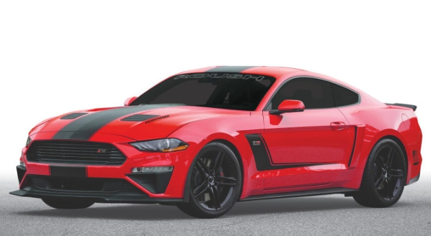 2019 Roush Stage 3 Mustang Packs 710 Cars And Coffee Destroying Horse