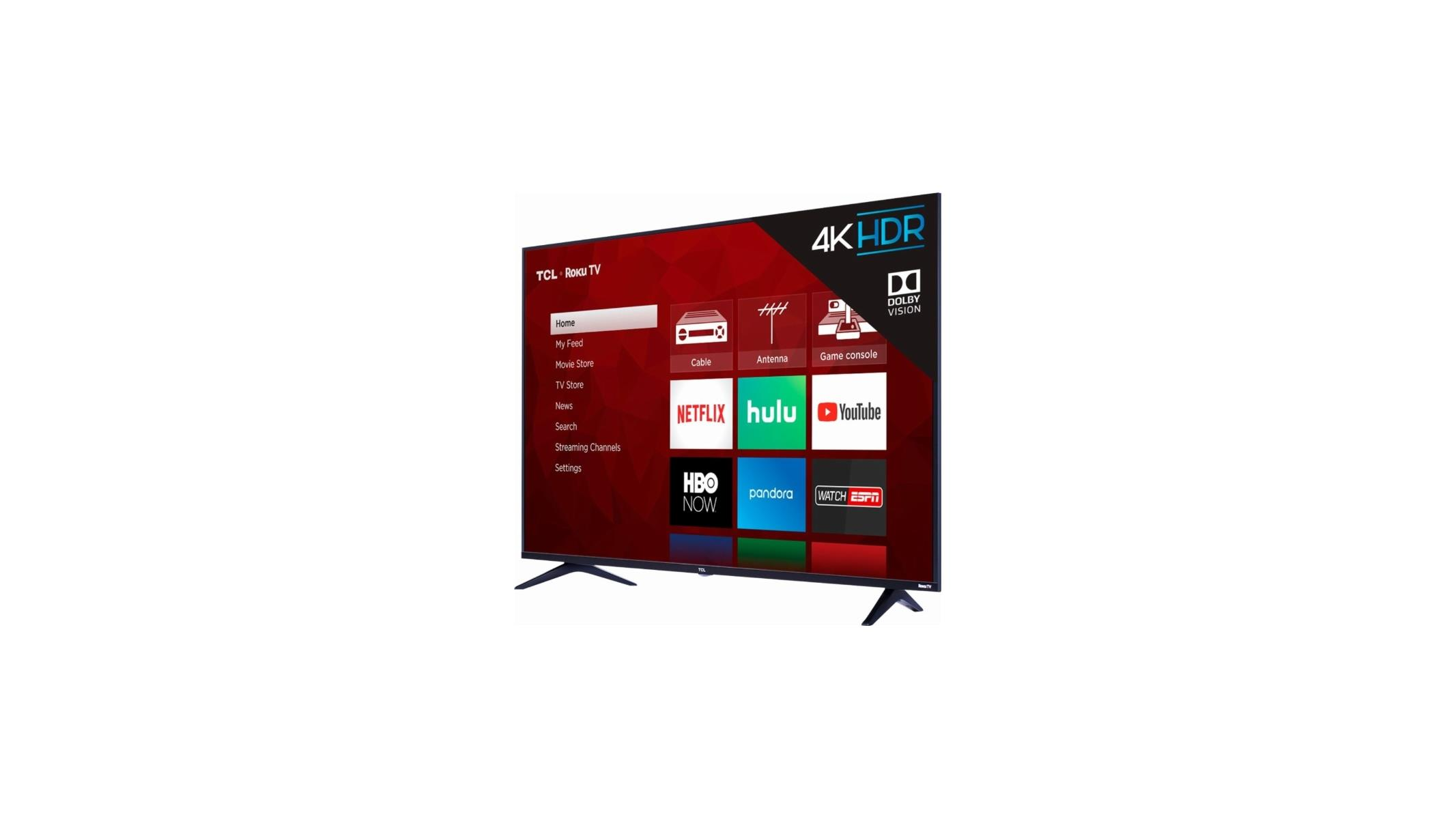 55-Inch TCL 4K HDR TV With Roku A Heck Of A Deal At Best Buy