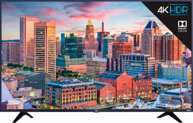 55 Inch Tcl 4k Hdr Tv With Roku A Heck Of A Deal At Best Buy For