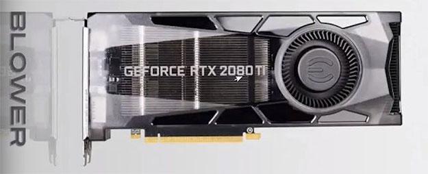 EVGA GeForce RTX 2080 Ti Blower