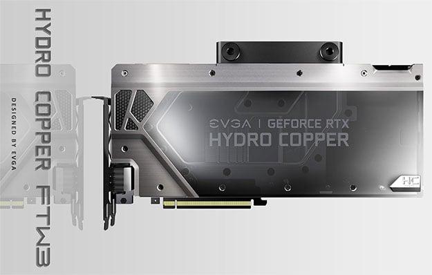 EVGA GeForce RTX 2080 Hydro Copper FTW3