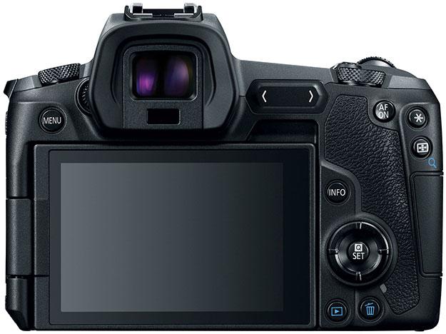 Canon EOS R Rear