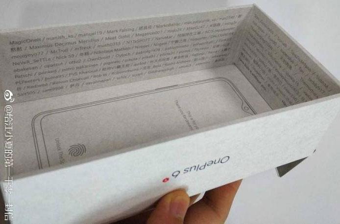 OnePlus 6T Box