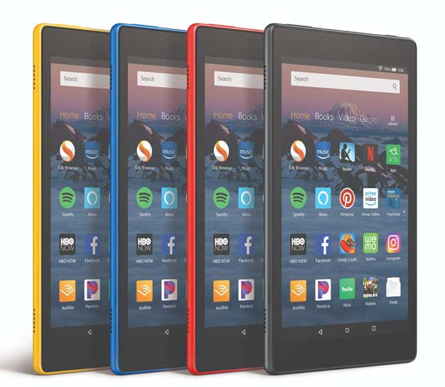 fire hd 8 color