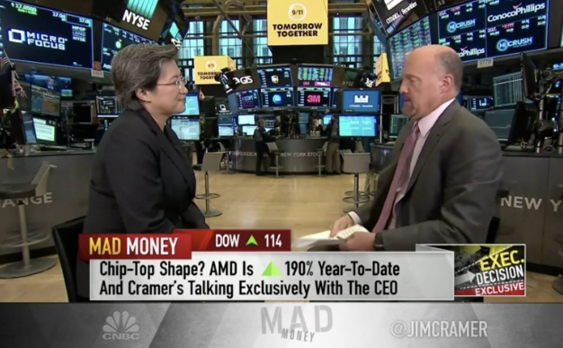 AMD CEO Lisa Su Talks About Company's Meteoric Rise, Zen Strengths