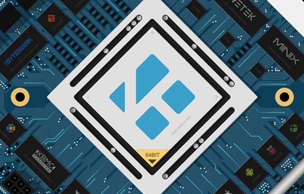 kodi logo motherboard