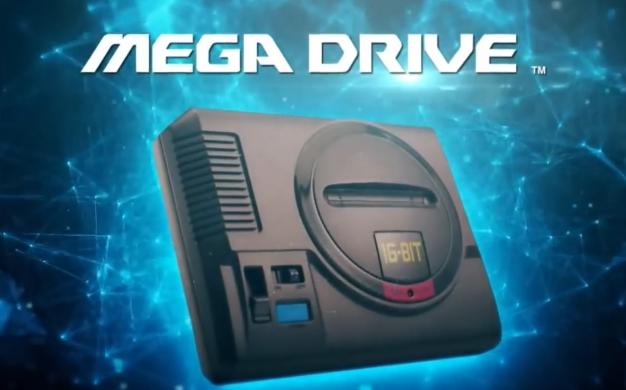 Sega Mega Drive Mini Retro Gaming Console Delayed Until 2019