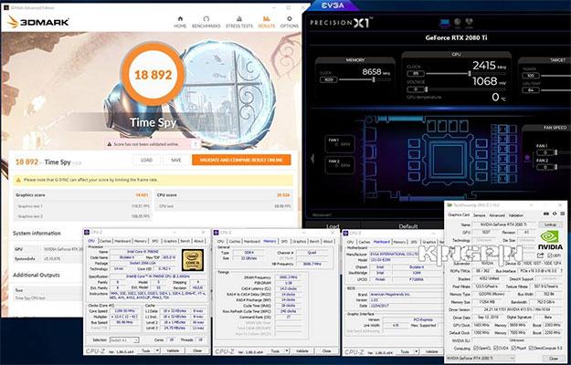 3DMark Time Spy GeForce RTX 2080 Ti