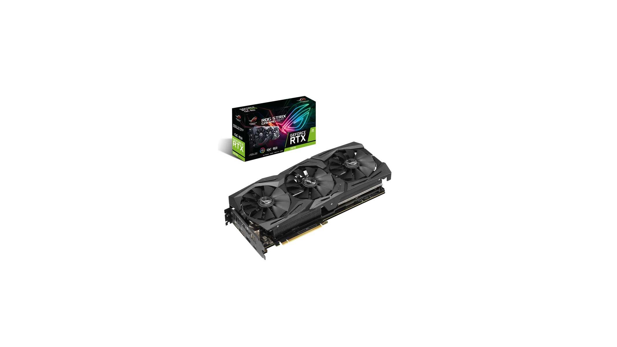 ASUS ROG Strix, Dual, And Turbo GeForce RTX 2070 Cards Stoke Geek