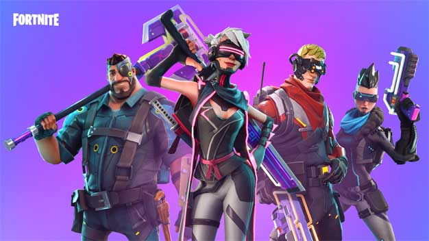 fornite battle royale characters