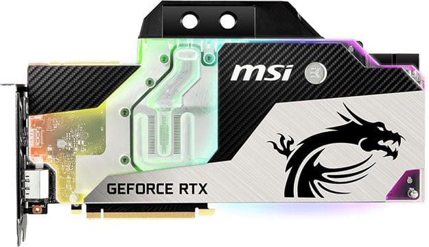 MSI GeForce RTX 2080 Ti Sea Hawk EK X